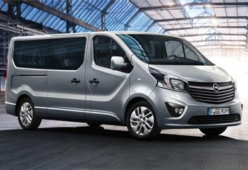 Opel Vivaro väikebussi rent